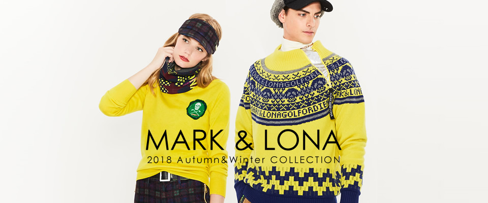 MARK&LONA 2018AW Collection