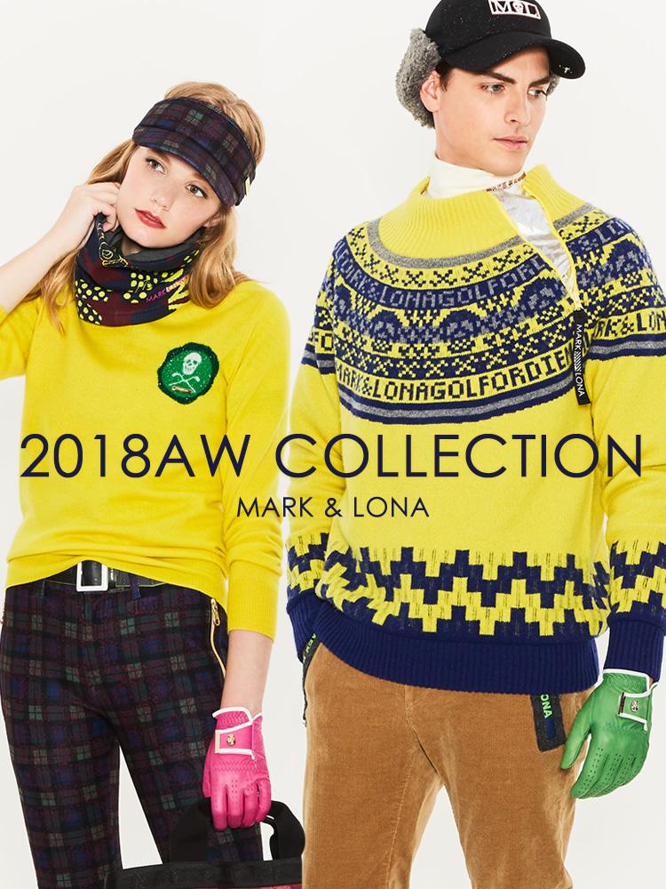 MARK&LONA 2018AW コレクション
