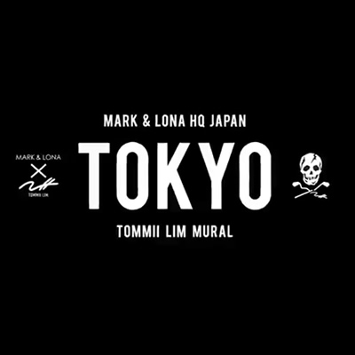 TOMMII LIM MURAL TOKYO MARK&LONA