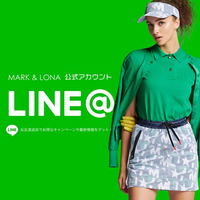 MARK & LONA LINE公式アカウント