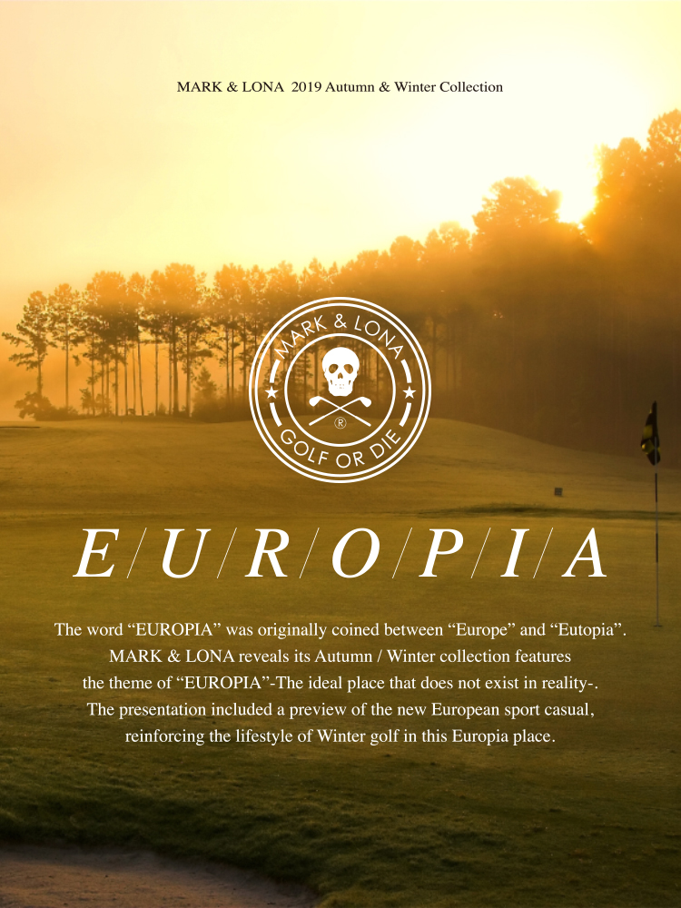 "2019 Autumn/Winter Collection ""EUROPIA"""