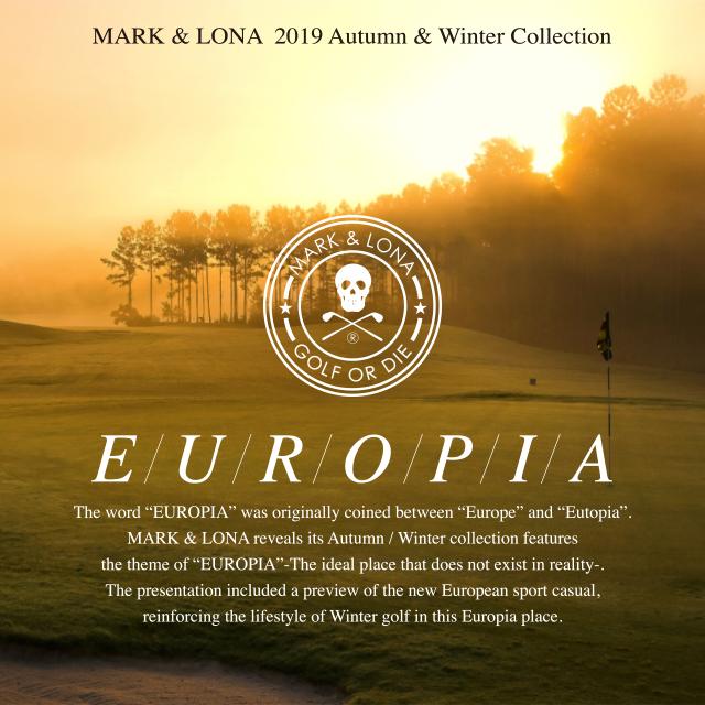 """2019 Autumn/Winter Collection """"EUROPIA"""""""