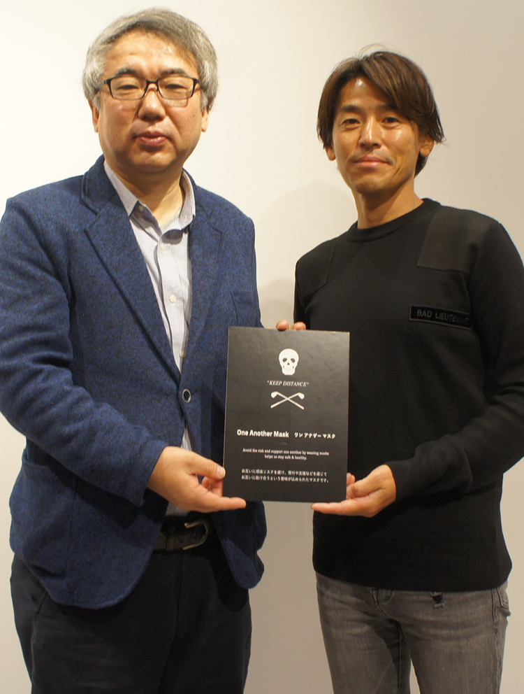 吉岡秀人医師と松村智明社長
